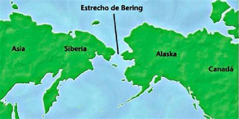 mapa del estrecho de bering as ccnn no insti o traballo do animal