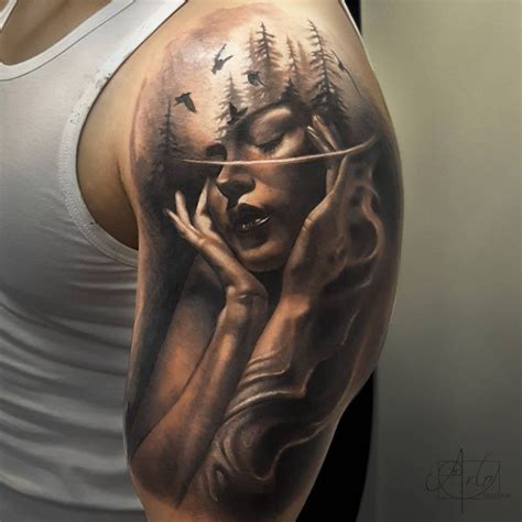 jaw dropping morph tattoos by arlo dicristina
