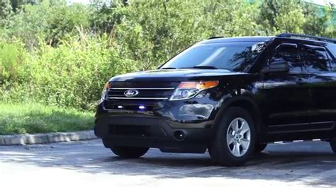 undercover police light package hg2 emergency lighting ford explorer unmarked police