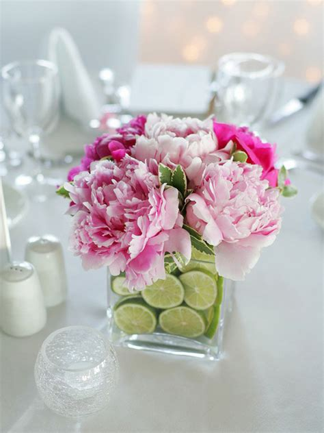 flower centerpiece ideas fruit filled centerpieces the celebration society