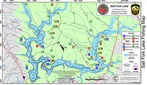 Salt Fork State Park Map by Alfa Img Showing Gt Lake Fork Fishing Spots