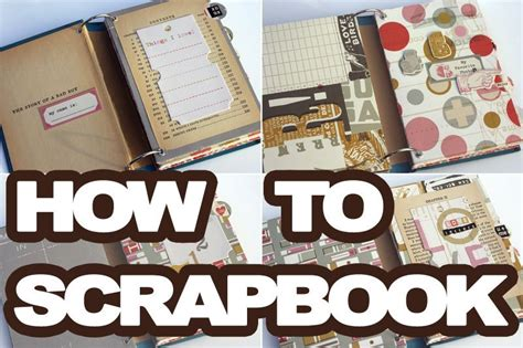 Disney Idea Book Scrapbooking And Crafting Ideas learning how to scrapbook is it is a great hobby the