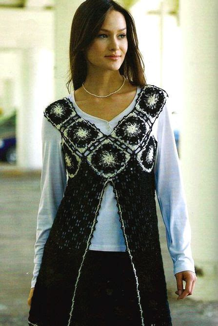 Tripy Tunic yarns charts and types of on