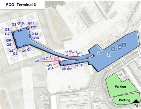 porte di roma mappa rome leonardo da vinci airport fco terminal 3 map