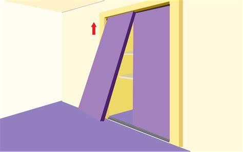 Closet Install by How To Install Sliding Closet Doors Ideaforgestudios