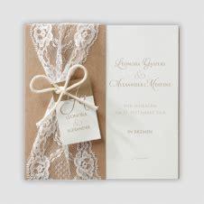 Einladungen Hochzeit Vintage Spitze by Hochzeitskarten
