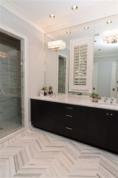 houzz tile shady grove master bath