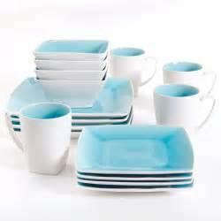 gibson studio pleasanton 16 dinnerware set square