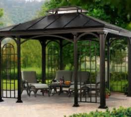 10x10 Steel Roof Gazebo Pergola Design Ideas Gazebo And Pergolas Most Inspiring