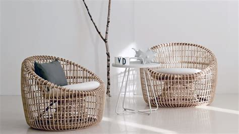 sustainable rattan indoor furniture  cane