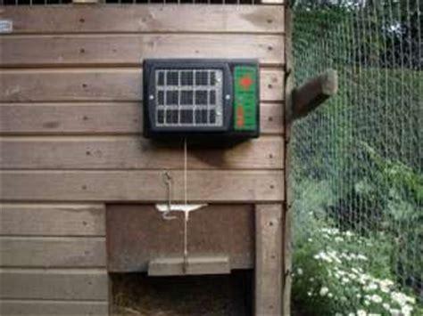 Solar Chicken Door by Automatic Chicken Coop Door