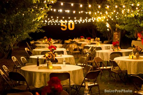 Backyard Wedding Celebration 50th Wedding Anniversary Decorations Decoration
