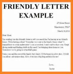 Template For A Friendly Letter by 10 Friendly Letter Template For Invoice Template