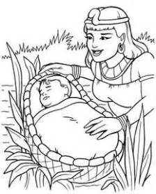 baby moses coloring page baby moses story coloring pages coloring pages