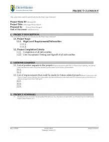 project closure template v3 0