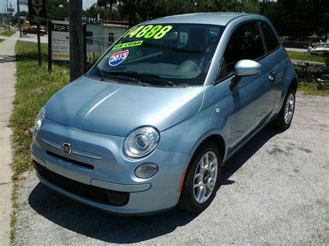 2013 fiat 500 pop hatchback purchase used 2013 fiat 500 pop hatchback 2 door 1 4l in