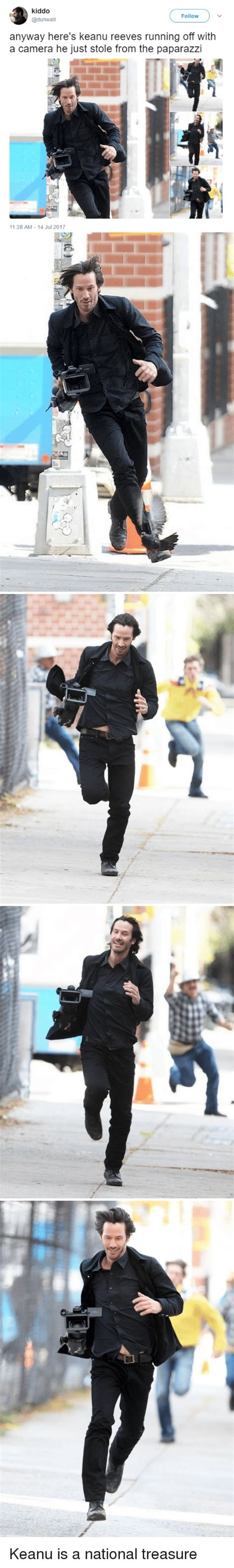 Keanu Reeves Runs The Paparazzi by 25 Best Memes About Keanu Reeves Keanu Reeves Memes