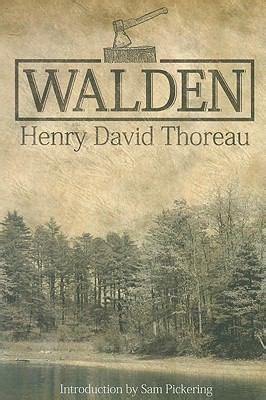 walden pond book walden by henry david thoreau samuel f pickering