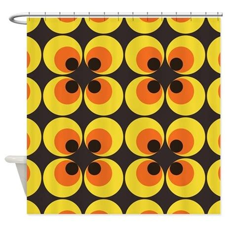 70s curtains 70s wallpaper shower curtain by smokingkipper