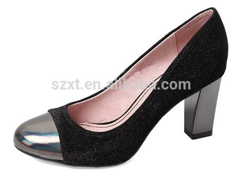 steel toe high heels classic black s pumps shoes steel toe cap