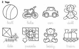 kindergarten vocabulary worksheets pdf toys vocabulary