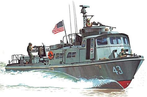 swift craft boat history quot pcf mk i swift boat during operation giant slingshot in