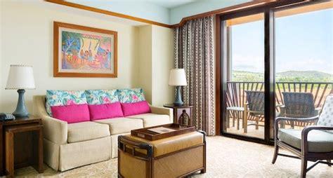 bedroom villa standard view aulani hawaii