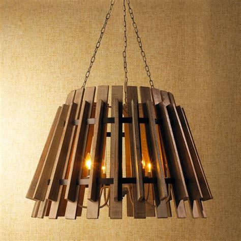Shades Of Light Chandelier Wood Slat Industrial Chandelier Chandeliers By Shades Of Light