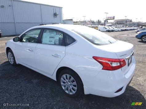 nissan sentra 2017 white 2017 fresh powder white nissan sentra s 118694852 photo