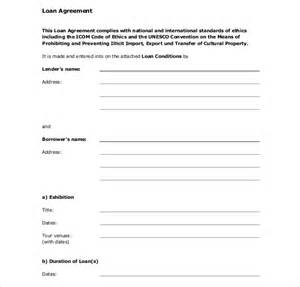 Auto Loan Contract Template Free by Loan Contract Template 26 Exles In Word Pdf Free