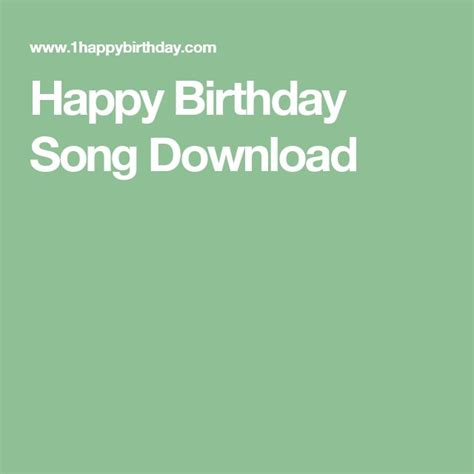 download happy birthday party song mp3 free happy birthday songs download mp3 differential