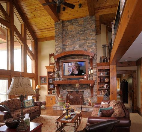 rustic great room rustic great room house ideas tvs the o