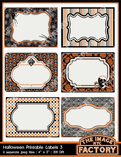 printable ghost name tags halloween printable labels tags for gift tags place cards