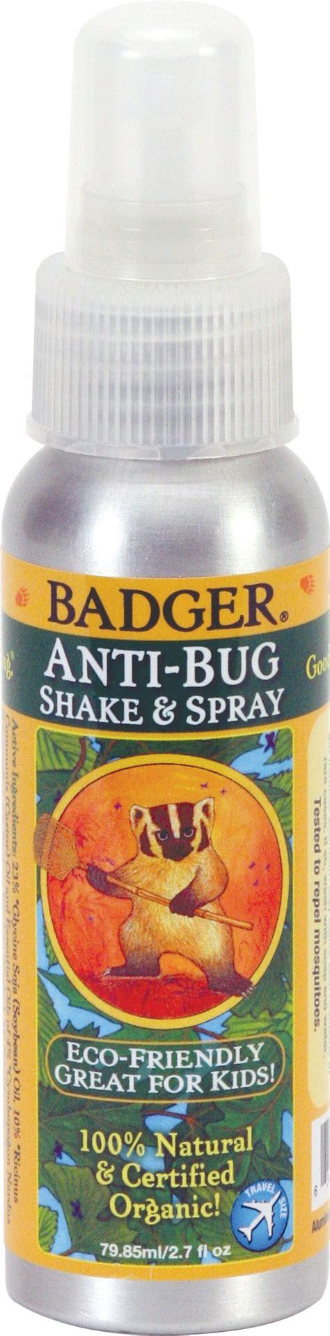 Badger 100 Organic Anti Bug Shake Spray 1183 Ml badger balm anti bug balm stick 1 5 oz