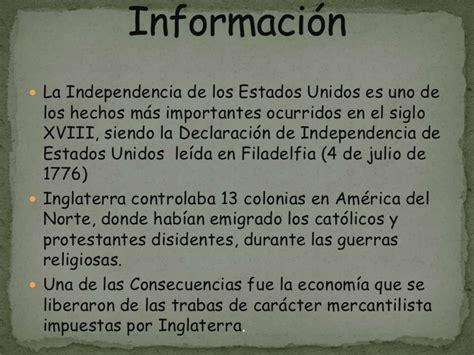 www contraloria general de estado declaracion uramentado independencia de estados unido