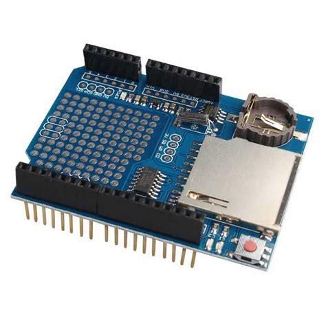 Data Logger Shield For Arduino Data logging recorder shield data logger module for arduino uno sd card free shipping dealextreme