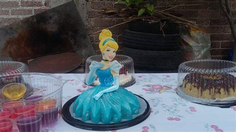 gelatinas de princesas  fiestas vestidos  curso