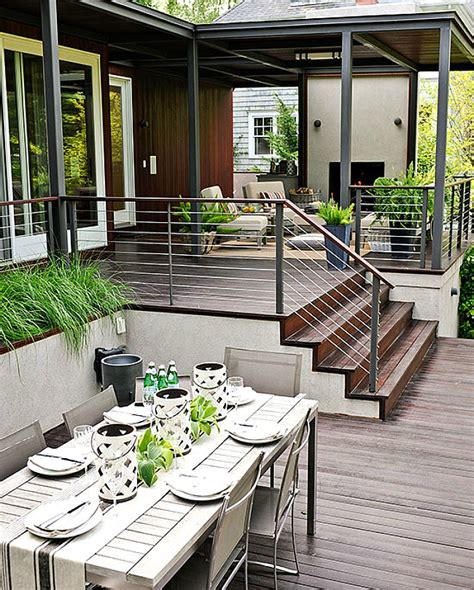 Decke Modern by 10 Modern Deck Spaces To Inspire Your Summer Backyard