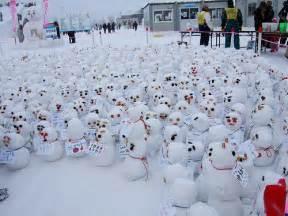 mini snowman army snow festival ycatbus flickr