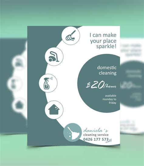 How To Make A Cleaning Service Flyer how to make a cleaning service flyer template rq