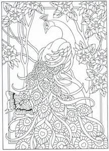 peacock coloring pages for adults peacock coloring page for adults 7 31 color pages