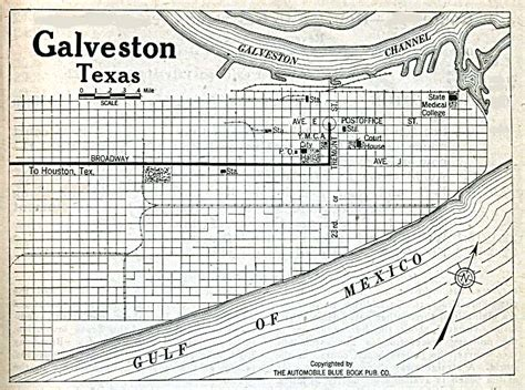 where is galveston texas on a map texas cities historical maps perry casta 241 eda map collection ut library