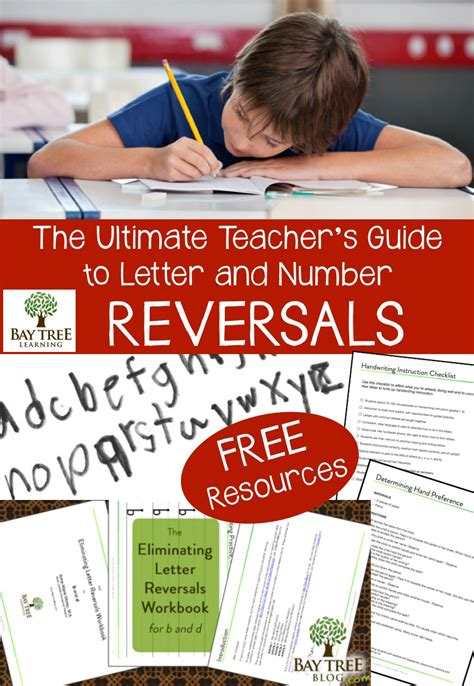Research On Letter Reversals The Ultimate S Guide To Letter And Number Reversals Make Take Teach