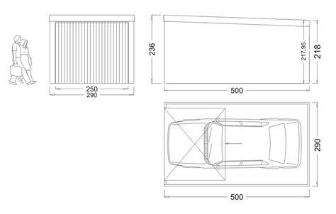 2 Car Garage Dimensions Garage M 233 Tallique Toit Plat Cr 233 Pis 1 Box Garage Standard