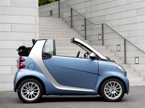 smart car cabriolet smart fortwo cabriolet is the cheapest convertible in the us