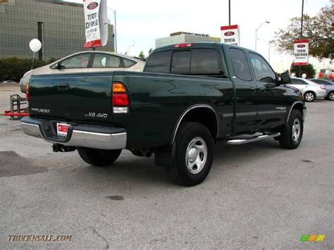 2002 Toyota Tundra For Sale 2002 Toyota Tundra Sr5 Access Cab 4x4 In Imperial Jade