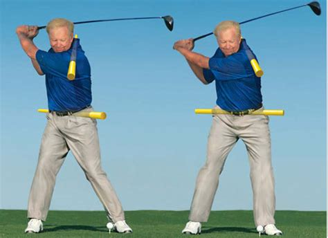 rotational golf swing increase upper body rotation the ultimate golf school