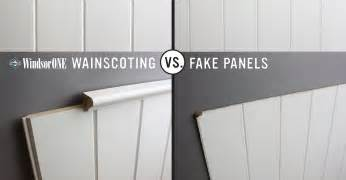 Mdf Beadboard Paneling - real vs fake wainscoting windsorone