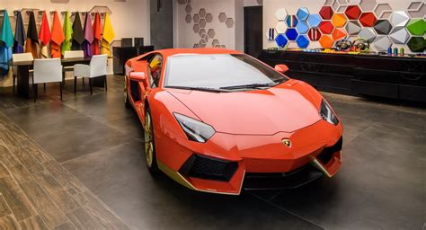 lamborghini headquarters lamborghini opens ad personam studio at its hq w
