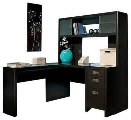 Small L Desk With Hutch Kathy Ireland By Bush New York Skyline L Shape Desk With
